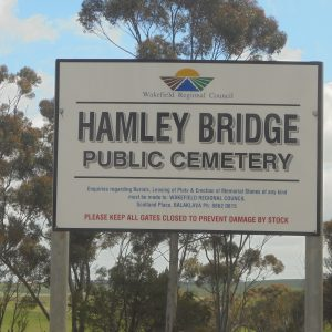 Hamley Bridge Cemetery
